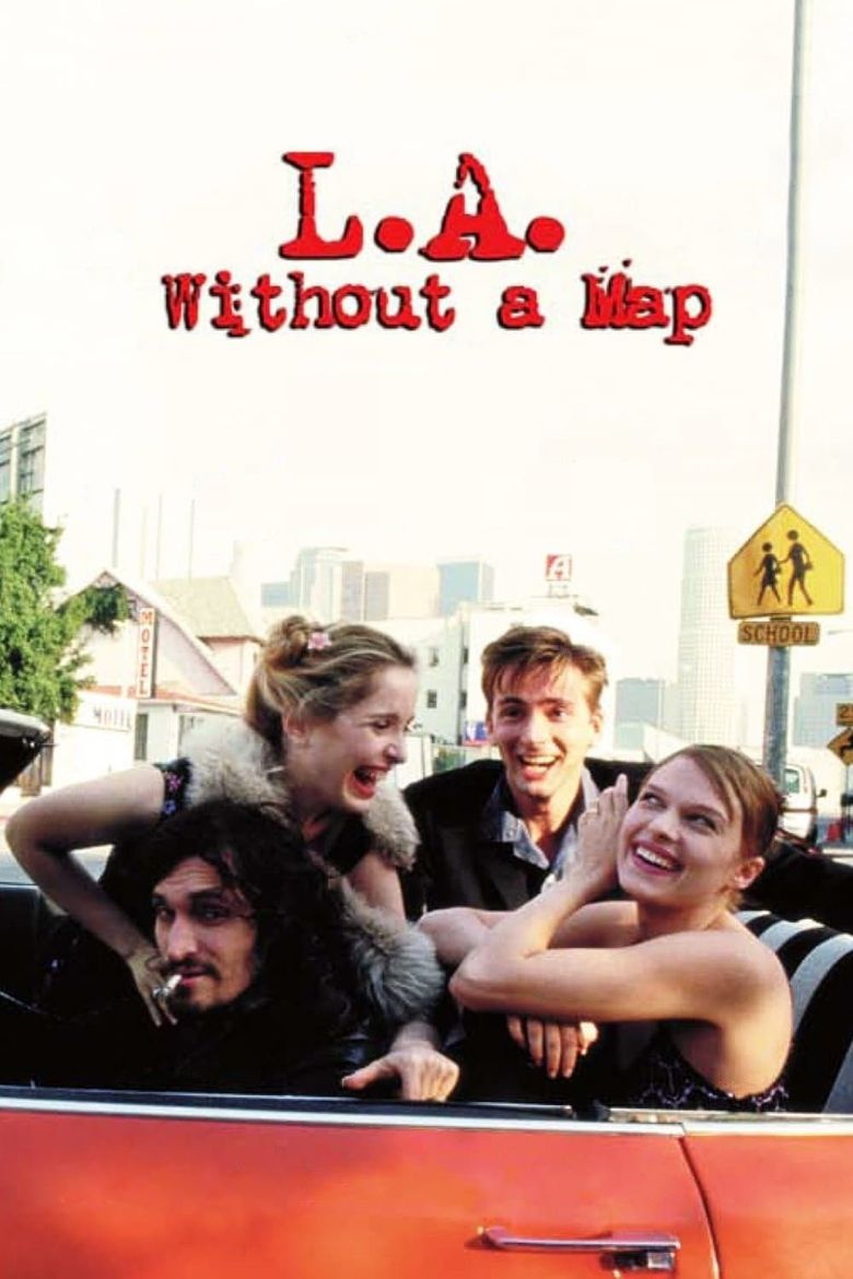 L.A. Without a Map Poster