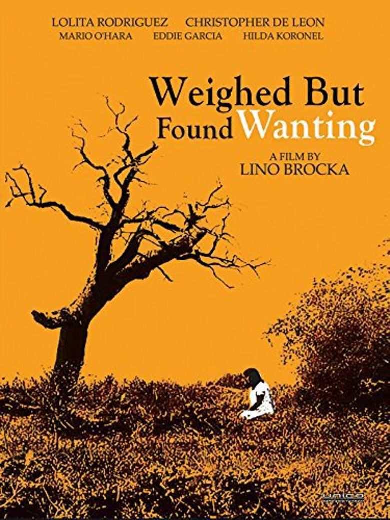 Weighed But Found Wanting Poster