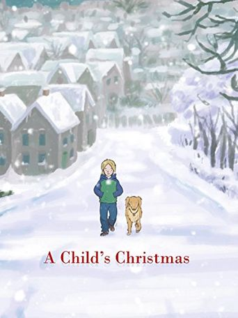A Child's Christmas Poster