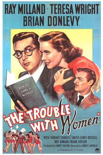 The Trouble with Women Poster