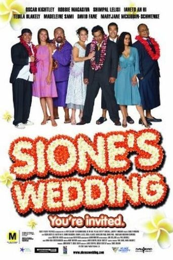 Sione's Wedding Poster