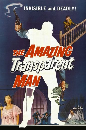 The Amazing Transparent Man Poster