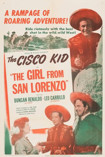 The Girl from San Lorenzo Poster