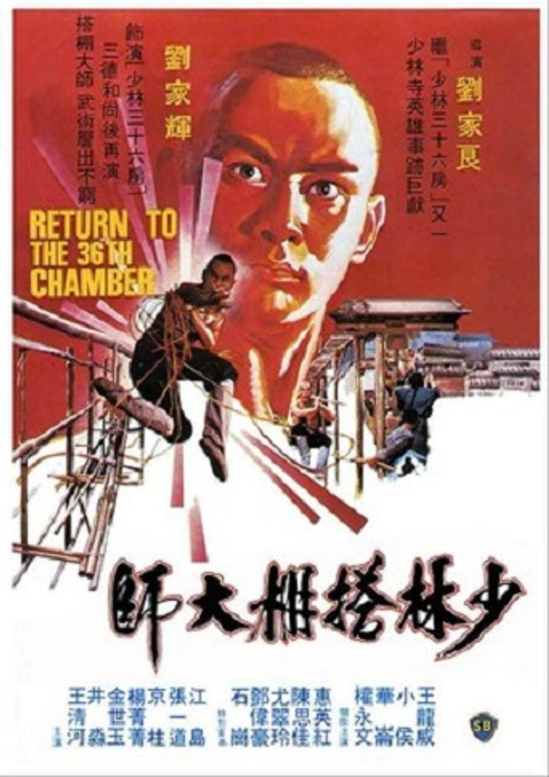 Return to the 36th Chamber Poster