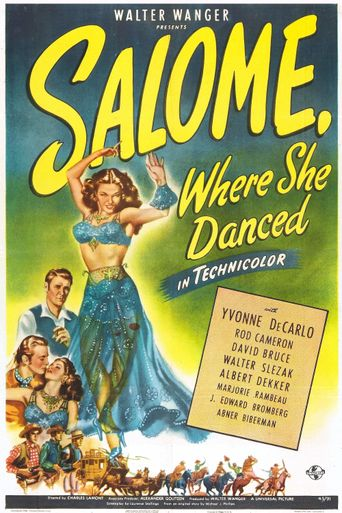 Salome, Where She Danced Poster