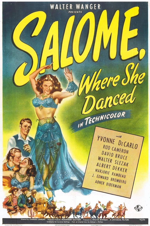 Salome, Where She Danced Poster