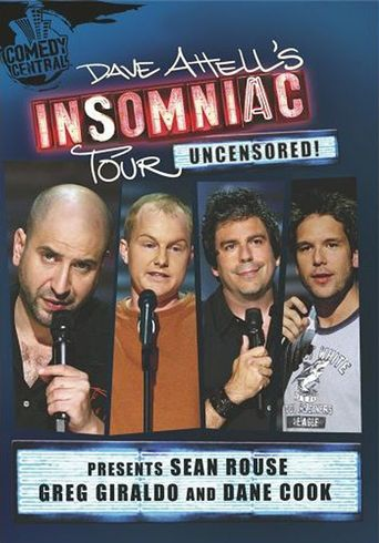 Dave Attell's Insomniac Tour: Uncensored! Poster