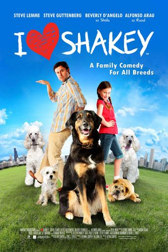 I Heart Shakey Poster