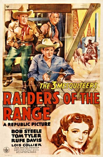 Raiders of the Range Poster