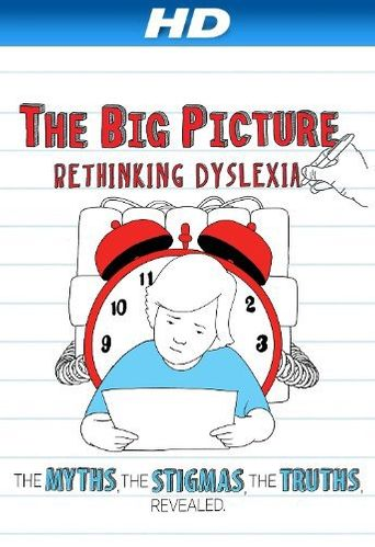 The Big Picture: Rethinking Dyslexia Poster