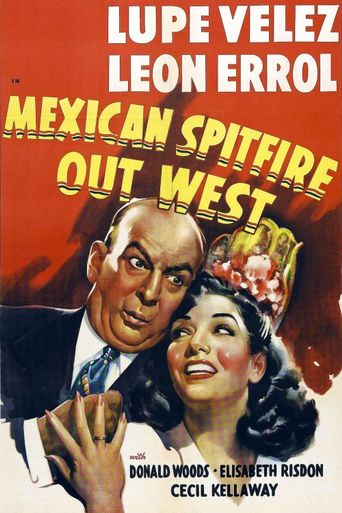 Mexican Spitfire Out West Poster