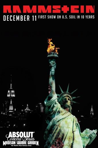 Rammstein: In Amerika - Live from Madison Square Garden Poster