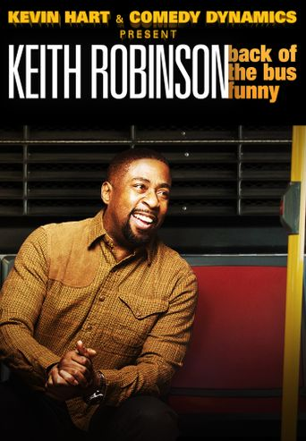 Keith Robinson: Back of the Bus Funny Poster
