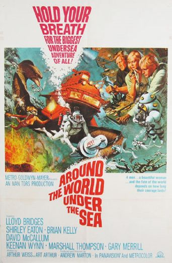 Around the World Under the Sea Poster