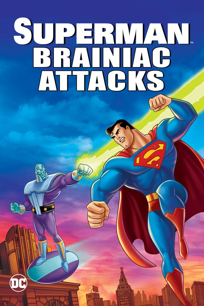 Superman: Brainiac Attacks Poster