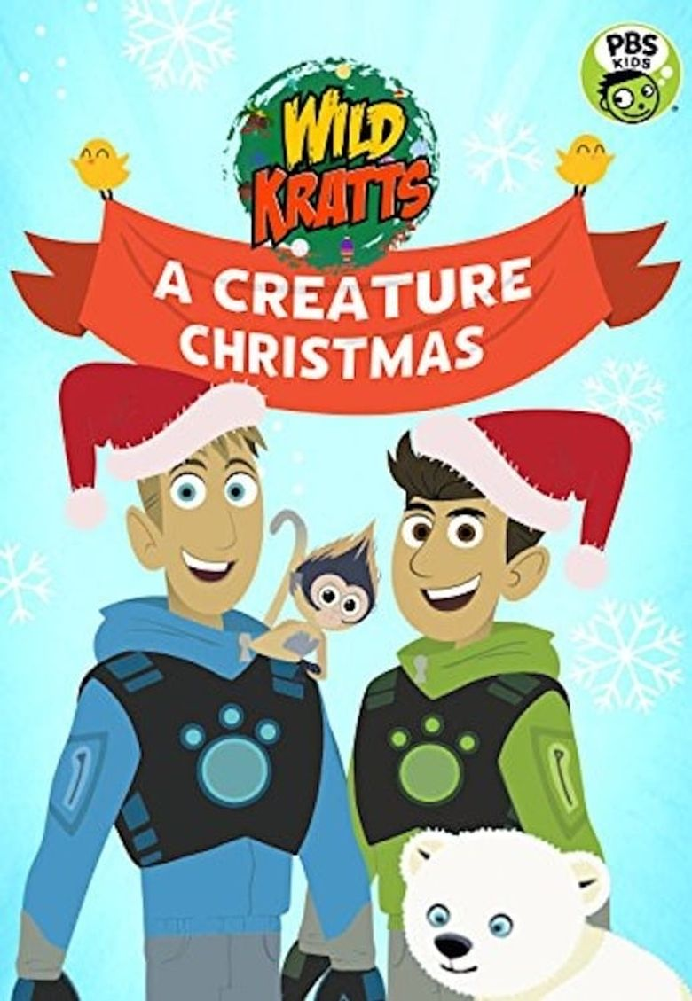 Wild Kratts: A Creature Christmas Poster