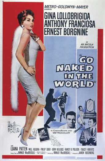 Go Naked In The World Poster