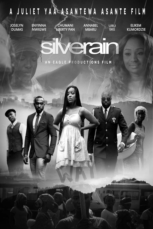 Silver Rain Poster