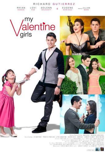 My Valentine Girls Poster