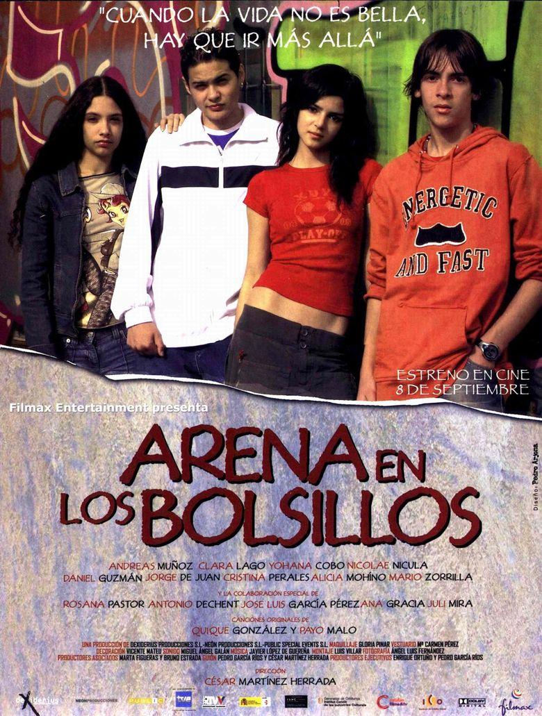 Arena en los bolsillos Poster