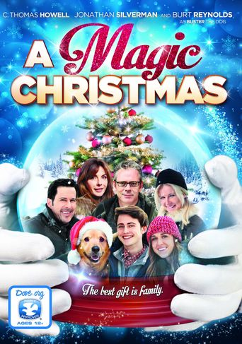 A Magic Christmas Poster