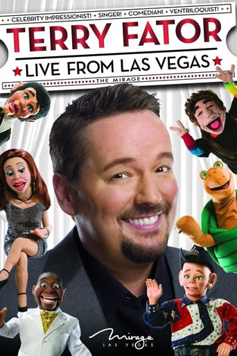 Terry Fator: Live from Las Vegas Poster