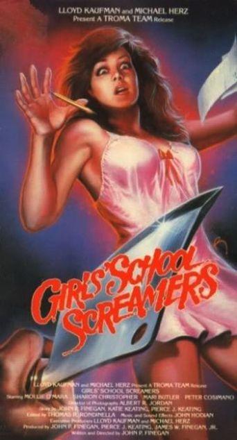 Girls School Screamers Poster