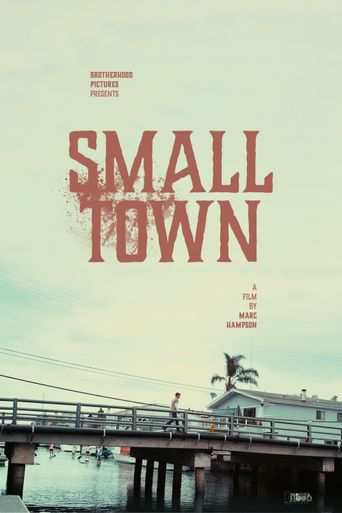 Small Town Poster