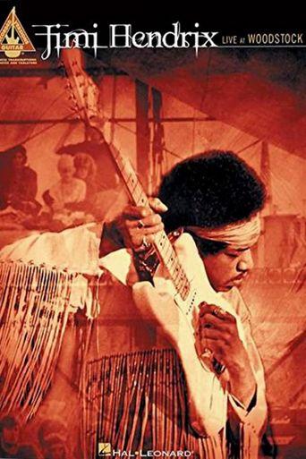 Jimi Hendrix - Live at Woodstock Poster