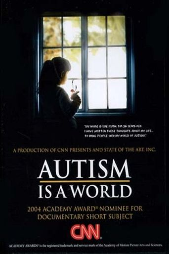 Autism Is a World Poster