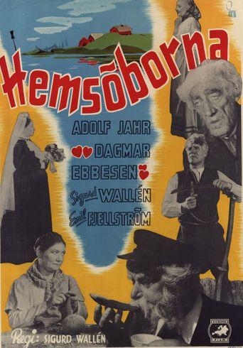 Hemsöborna Poster