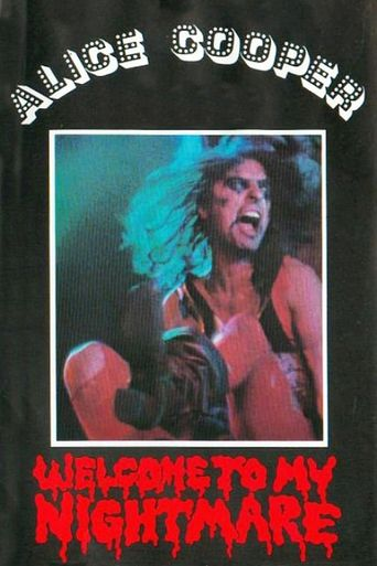 Alice Cooper: Welcome to my Nightmare Poster