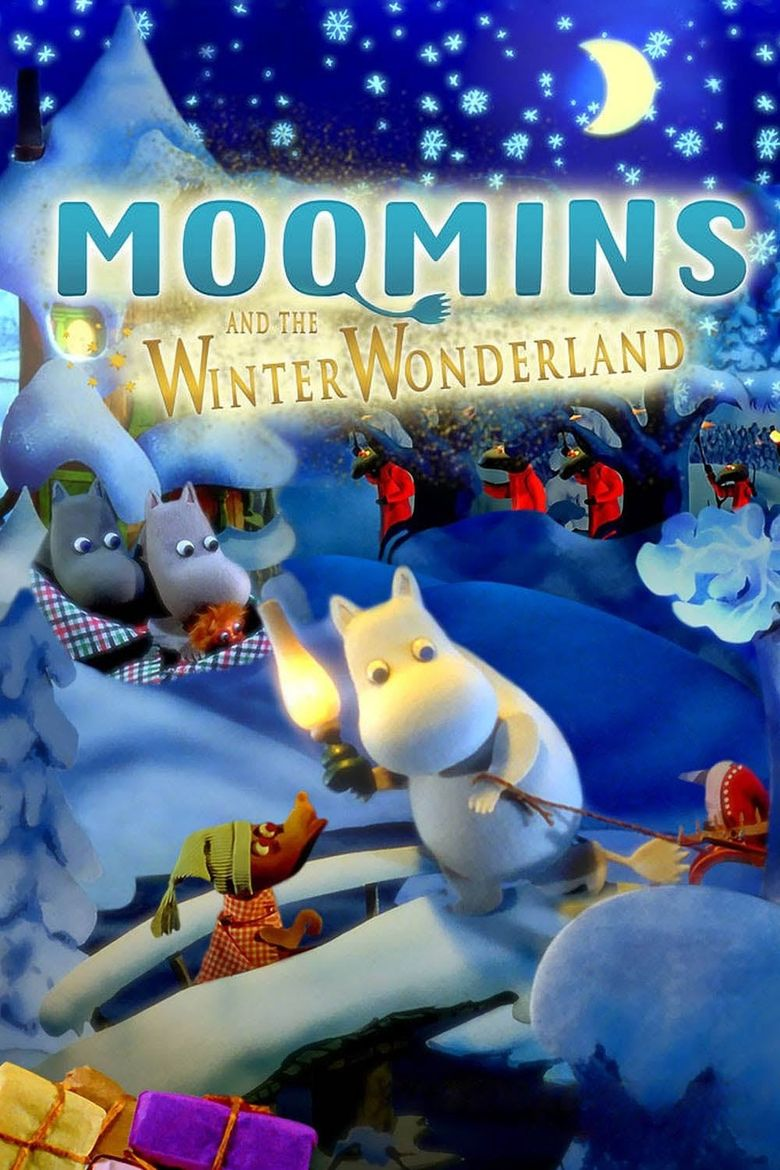 Moomins and the Winter Wonderland Poster