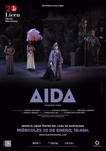 Aida Gran Teatre del Liceu | Ópera en directo Temporada 19/20 Poster