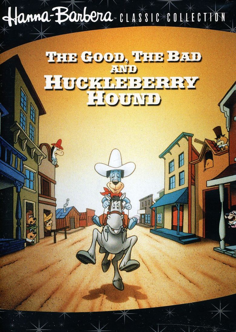 The Good, the Bad, and Huckleberry Hound Poster