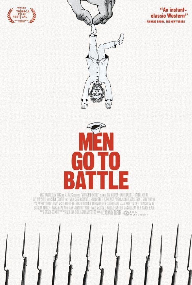Men Go to Battle Poster