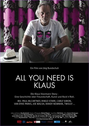 All You Need Is Klaus Poster