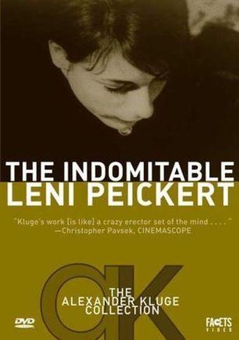 The Indomitable Leni Peickert Poster