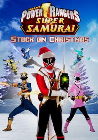 Power Rangers Super Samurai: Stuck on Christmas Poster