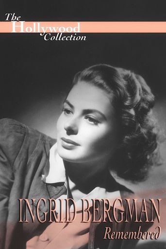 Ingrid Bergman Remembered Poster