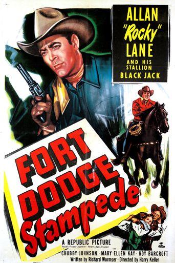 Fort Dodge Stampede Poster