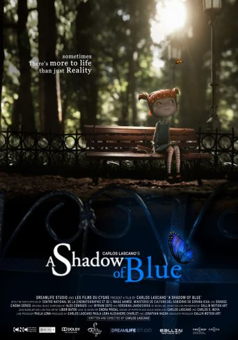 A Shadow of Blue Poster