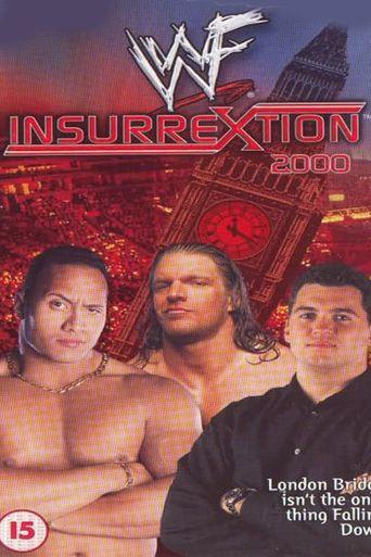 WWE Insurrextion 2000 Poster
