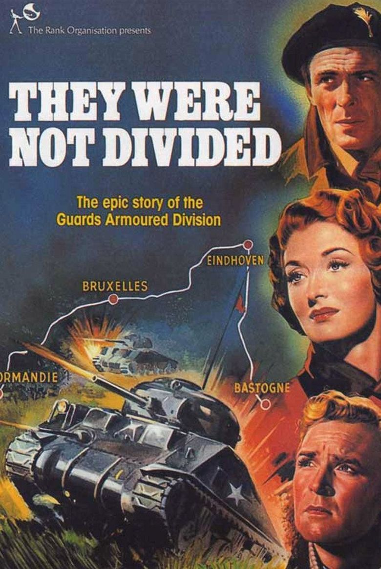 They Were Not Divided Poster