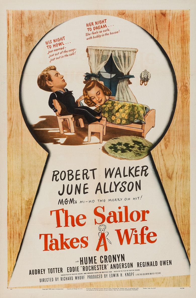 The Sailor Takes a Wife Poster