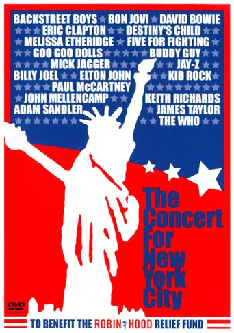 The Concert for New York City Poster