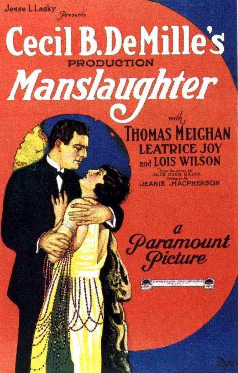 Manslaughter Poster