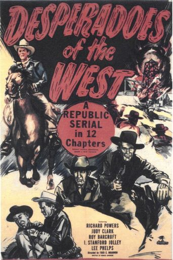 Desperadoes of the West Poster