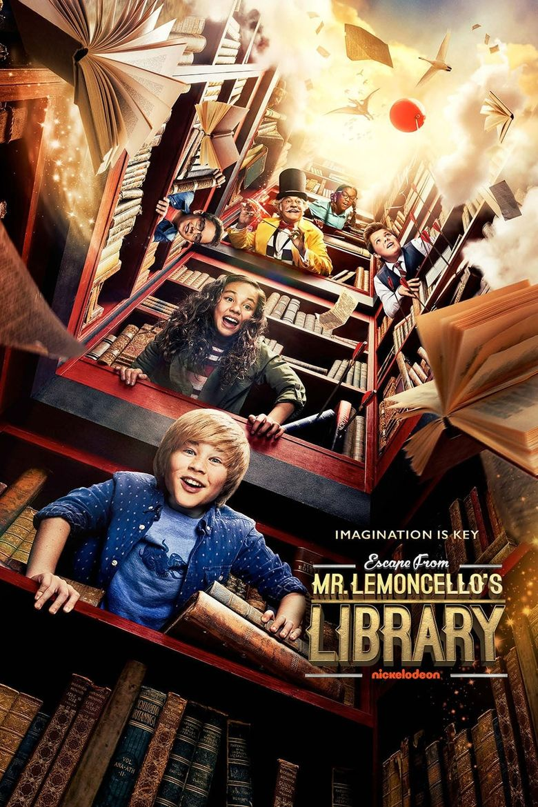 Escape from Mr. Lemoncello's Library Poster
