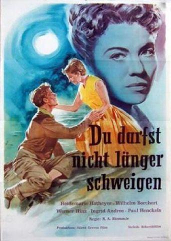 Du darfst nicht länger schweigen Poster